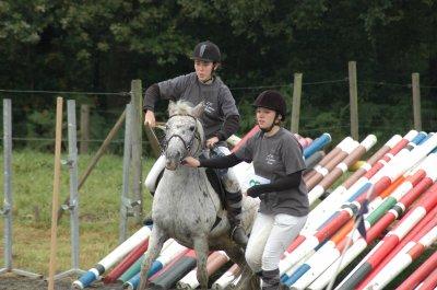 concours pony-games à Graide