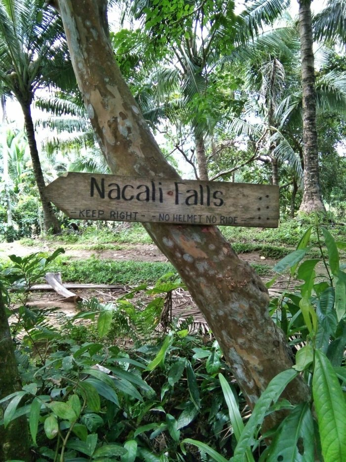 Back to Nacali falls