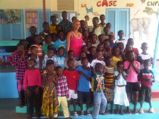 Keri Hilson touchée par la Côte d'Ivoire