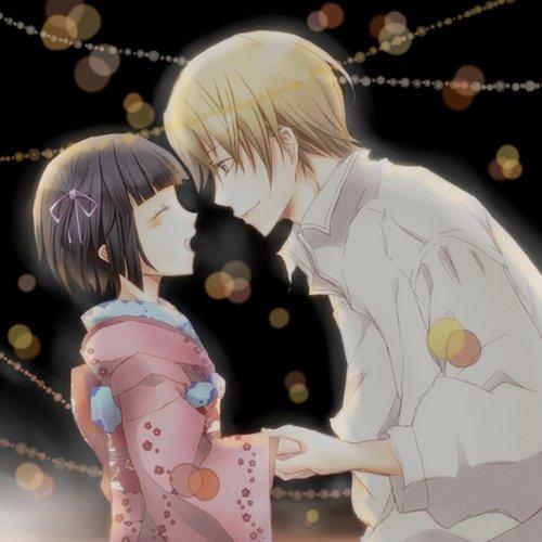 Ikoku Meiro No Croisée   Vostfr  :D ( doux amour/amité-France-Japon) !