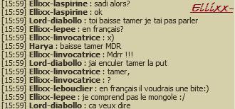 en Français? x)