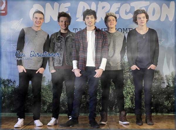 Les One Direction étaient au Japon, le 18 Janvier et ont donné une conférance de Presse