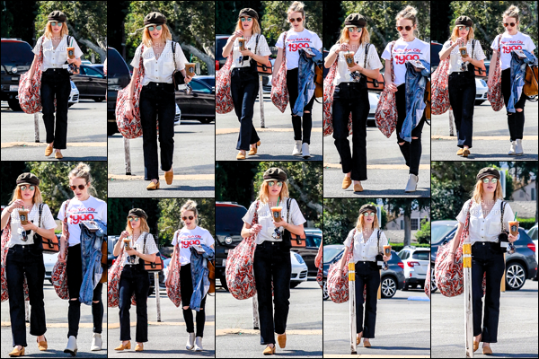 .12/10/2018 - La miss Lucy Kate Hale a été aperçue faisant du shopping dans le très célèbre quartier de Studio City.  J'aime beaucoup la tenue de miss Lucy à part la casquette, et j'adore sa coupe de cheveux elle est top je trouve & toi t'en penses quoi ?! .
