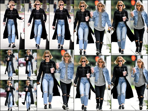 . 14/12/018 - Notre magnifique Lucy K. Hale a été aperçue se promenant dans les rues de Los Angeles avec des amies.  Très peu de photo pour ce candids dommage j'espère que çà viendra dans ces cas là j'en rajouterai. Un top pour notre Lucy Hale et toi?! .