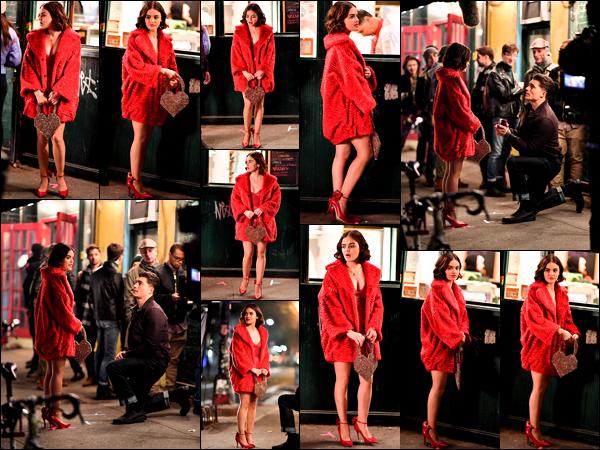 .23/03/2019 - Lucy Kate Hale a été aperçue sur le tournage de sa nouvelle série Katy Kenee dans les rues de New York.   Encore une fois sur le tournage de sa nouvelle série que nous avons aperçue miss Hale un gros top pour la miss ! J'ai hâte de voir çà !! .