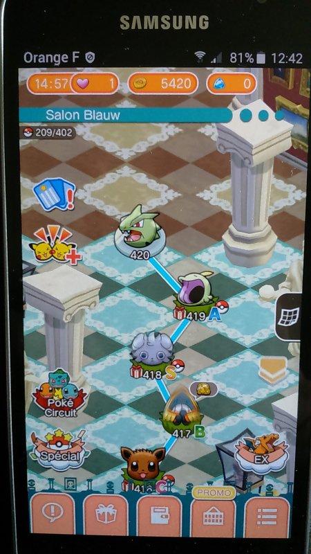 Pokémon Go/Pokémon Shuffle