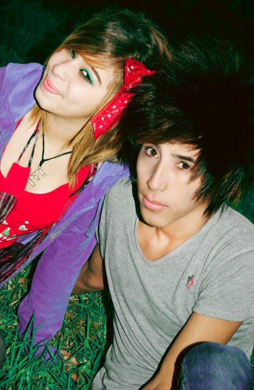 moi avec yousra ^^