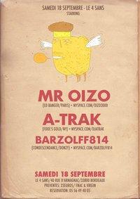 •••Mr Oizo & A-Trak•••