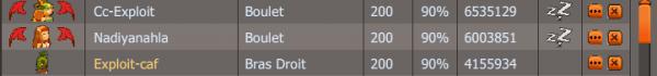 La semaine de Exploit :p
