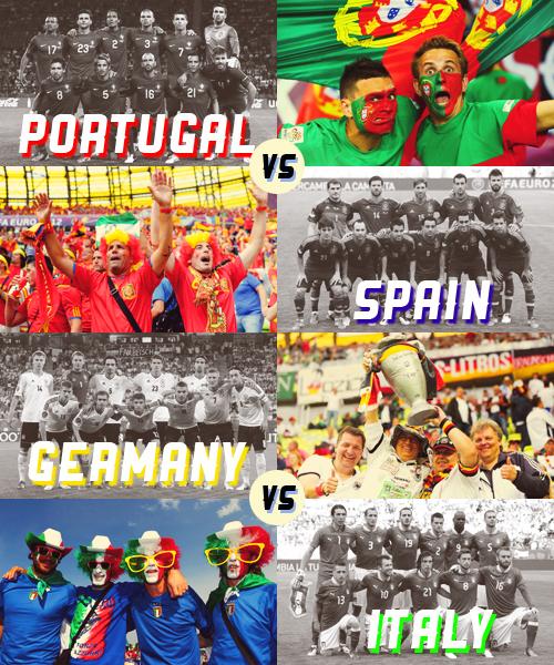 Demi-Finale de l'Euro 2012.
