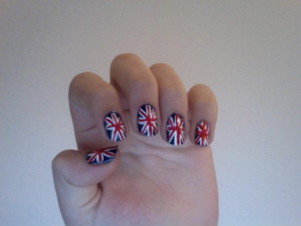 Nail Art British