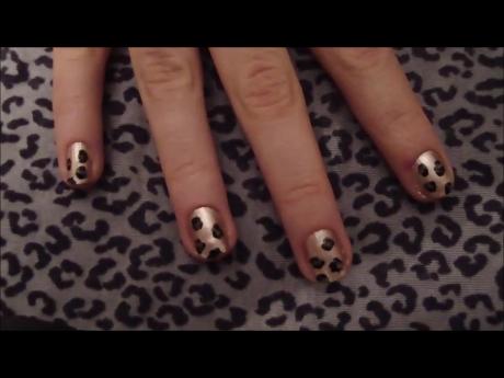 Tuto facile n°1: Nail-art Léopard