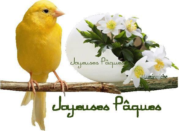 Joyeuses Pâques à tous mes amis éleveurs