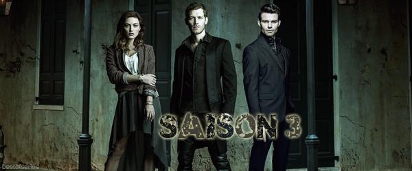 The Originals - Saison 3 : Liste des épisodes