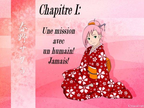 ►Fic n°1: Chapitre 1 Une mission avec un humain! Jamais!◄