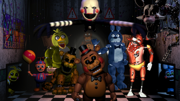 théorie n°1: Five nights at freddy