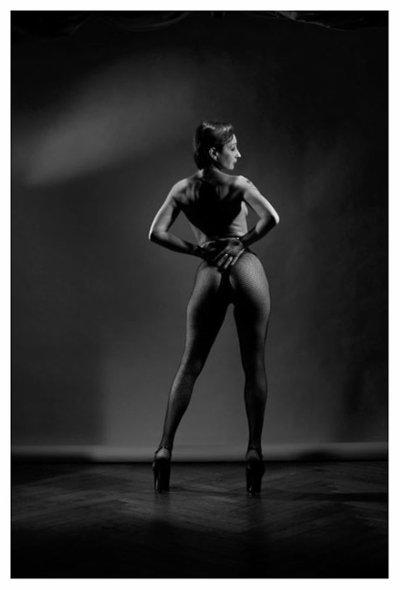 laika, modèle fetish ayant posé pour de nombreux photographes