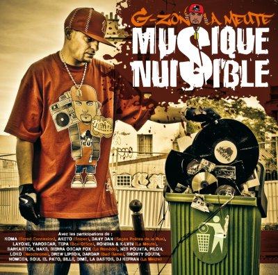 G-ZON LA MEUTE (titre de l'album( musique nuisible )
