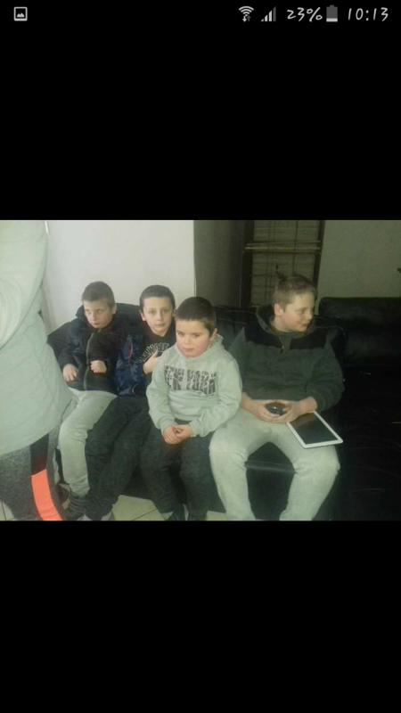 Mes 4 garçons que j'aime plus que tout