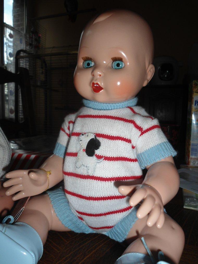 Mariquita Perez : bébé Juanin...