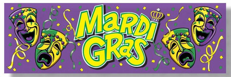 Mardi Gras.... et déguisements !