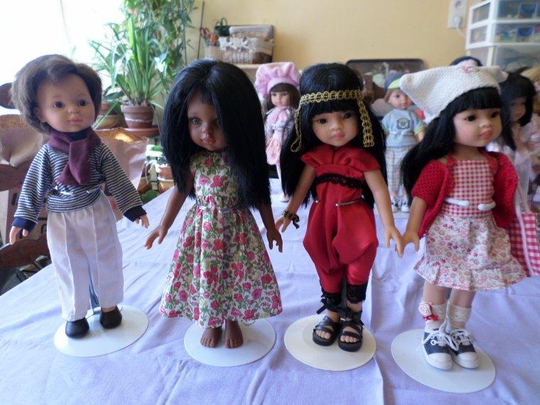 mes petites Paola Reina 32cm