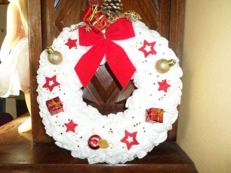 TADAM.....Ma première déco de Noël est prête !!!!