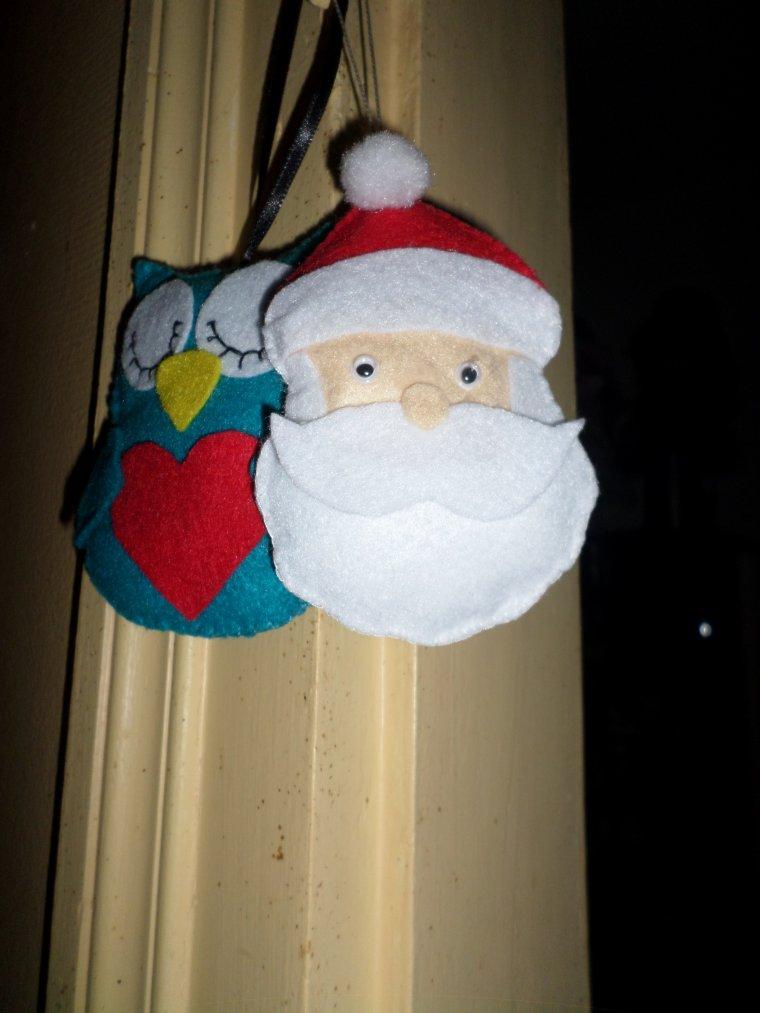 mes petites créa pour Noël :