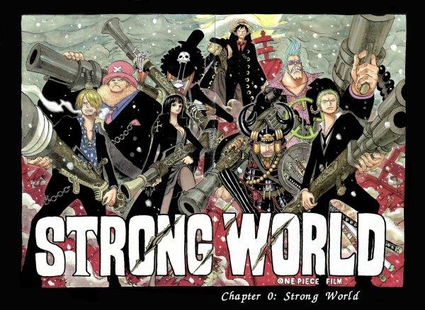 """film One piece le film 10 """"Strong World"""" après ça j'arrête one piece --,"""