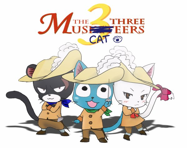 Une vie de Chat, Chapitre 1er: The Three MusCATeers