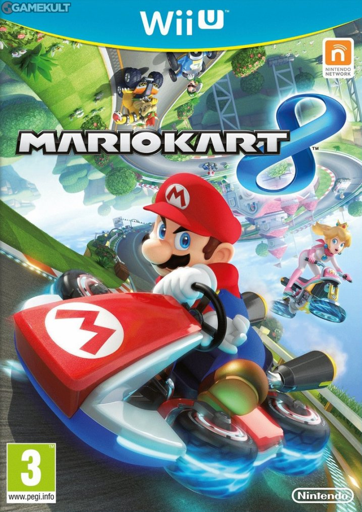Mario métal conduit une 300 SL dans MarioKart 8 !