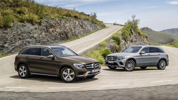 Mercedes GLC, le GLE en réduction .