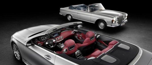 Mercedes Classe S Cabriolet : retour d'une star 44 ans après !