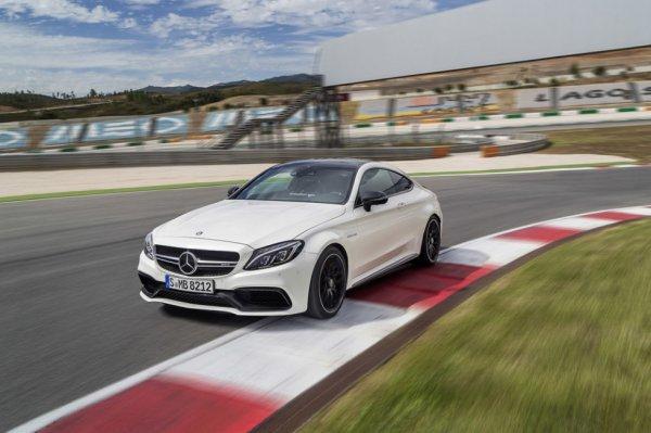 Nouveau Mercedes-AMG C63 Coupé !