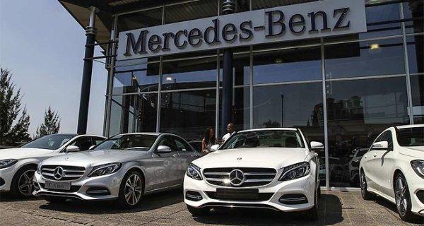 Record de ventes trimestrielles pour Mercedes .