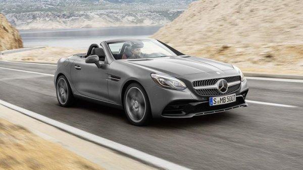 Mercedes SLC, la nouvelle mouture du SLK .