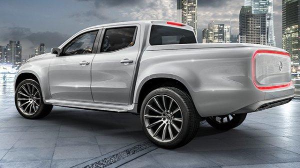 Le Mercedes Classe X peut déjà être réservé au Royaume-Uni .