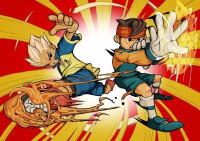 Axel avec la tornade du dragon et Marck qui fait la main celecte