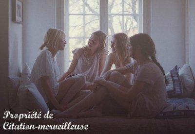 """L'amitié relie 3 Grands """"C""""  La Complicité • La Confiance • La Connerie."""