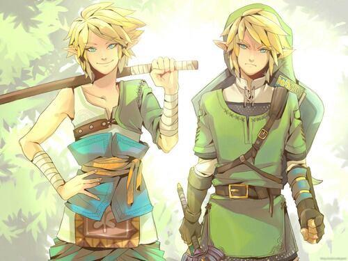 Vous préféré le Link de gauche ou de droite?