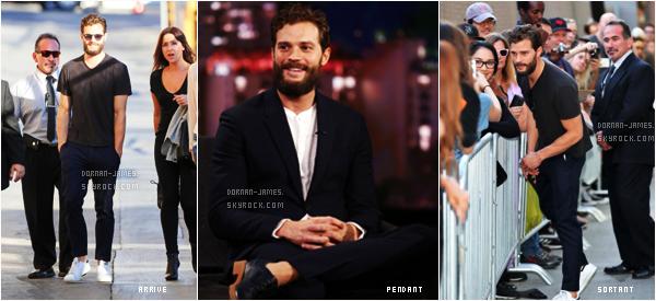 • FLASHBACK EVENT  - Le 3/11/16, notre beau Jamie D. était au Jimmy Kimmel Live..