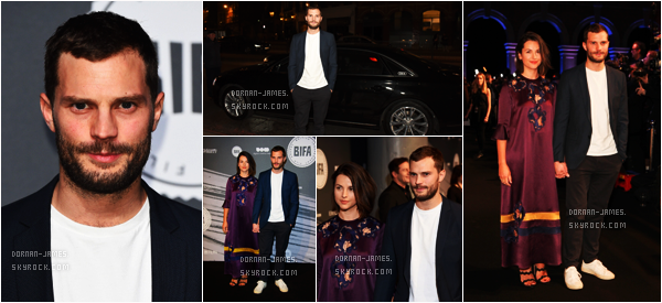 • EVENT  - Le 4/12/16,Jamie et Amelia étaient British Independent Film Awards