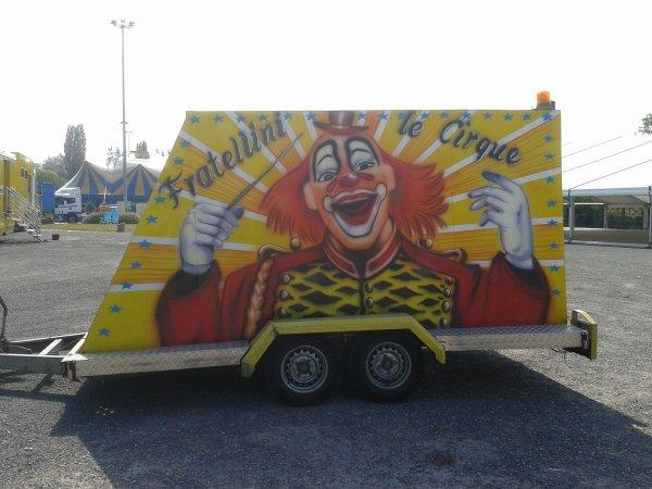Cirque Sabrina Fratellini 2013 à Caen