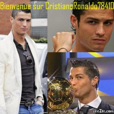 WELCOME ON CRISTIANORONALDO78410 !!!