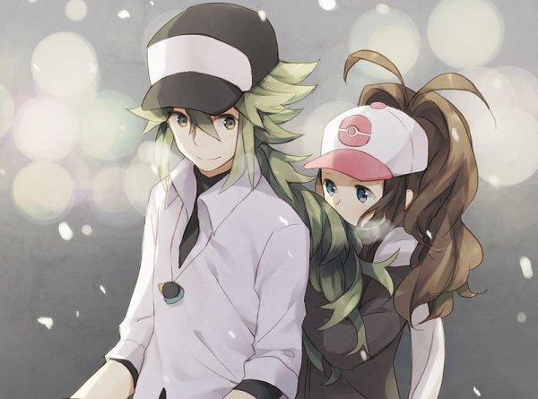 Voici le couple le plus priser de Pokemon Blanc/Noir !! ♥