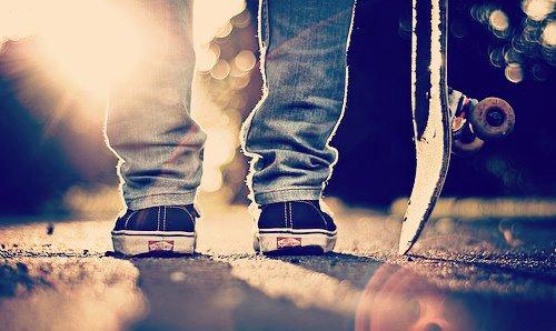 Ne plus penser au passé et toujours avancer.