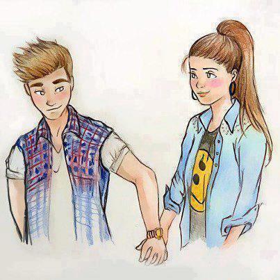 """On a pas peur de dire """"je t'aime"""" , mais de la réponse."""