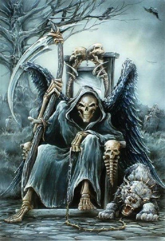 Death au cimetière
