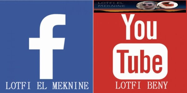 MA PAGE FACEBOOK ET MA CHAINE YOUTUBE