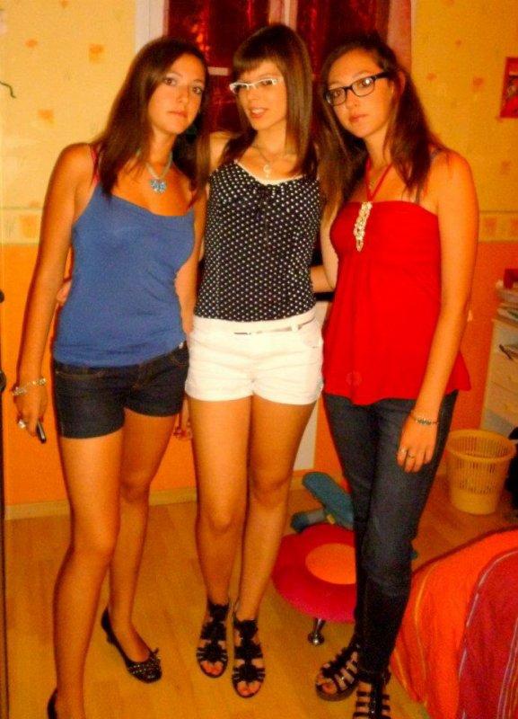 Moi, ma cousine et ma soeur